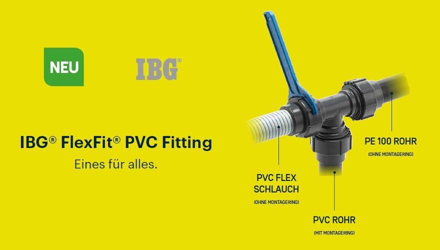 IBG FlexFit Fittinge Ø 50 mm