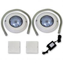 Einbau Scheinwerfer Set 7 LED SMD weiß 20 Watt
