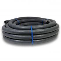 PVC Schlauch Ø 63mm 12m Rolle Flex Spiralklebeschlauch Erdbeständig flexibel Druckschlauch