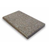 "Beckenrandstein - Set rechteckform Granit ""Charlie red"""