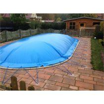 "Aufblasbare Pool Abdeckplane ""AirCover"" oval"