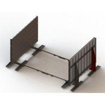 conZero System für Ovalbecken mit 1,35m Höhe
