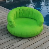 Exklusiver Schwimmsessel mit Bezug grün