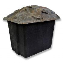 Technikschacht / Filterschacht GFK groß Felsoptik / Steinoptik