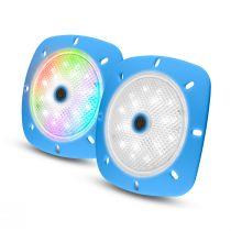 LED Magnetscheinwerfer blau