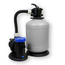 Filteranlage 390/6 Pool Schwimmbecken Sand Filter Filteranlage Pumpe 6m³/h SHOTT International