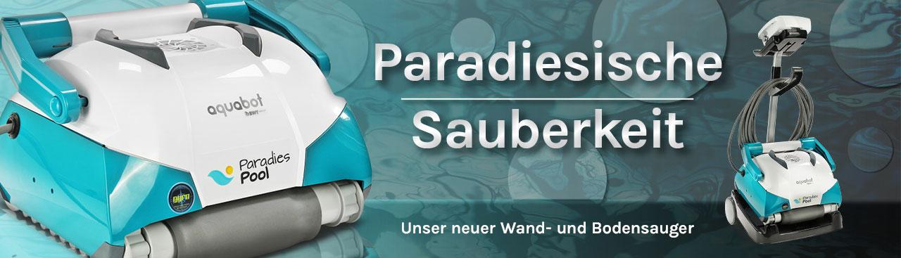 Poolsauger und Poolroboter bei Paradies Pool